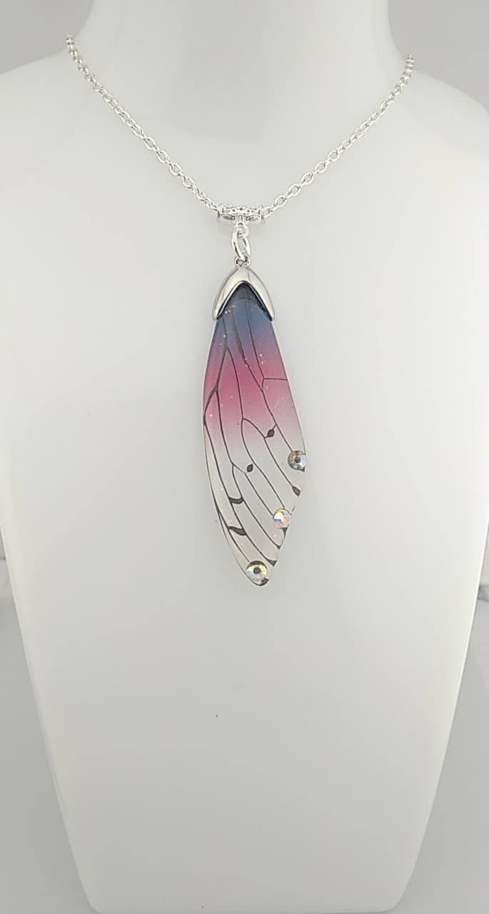 Colliers ailes de papillon fée