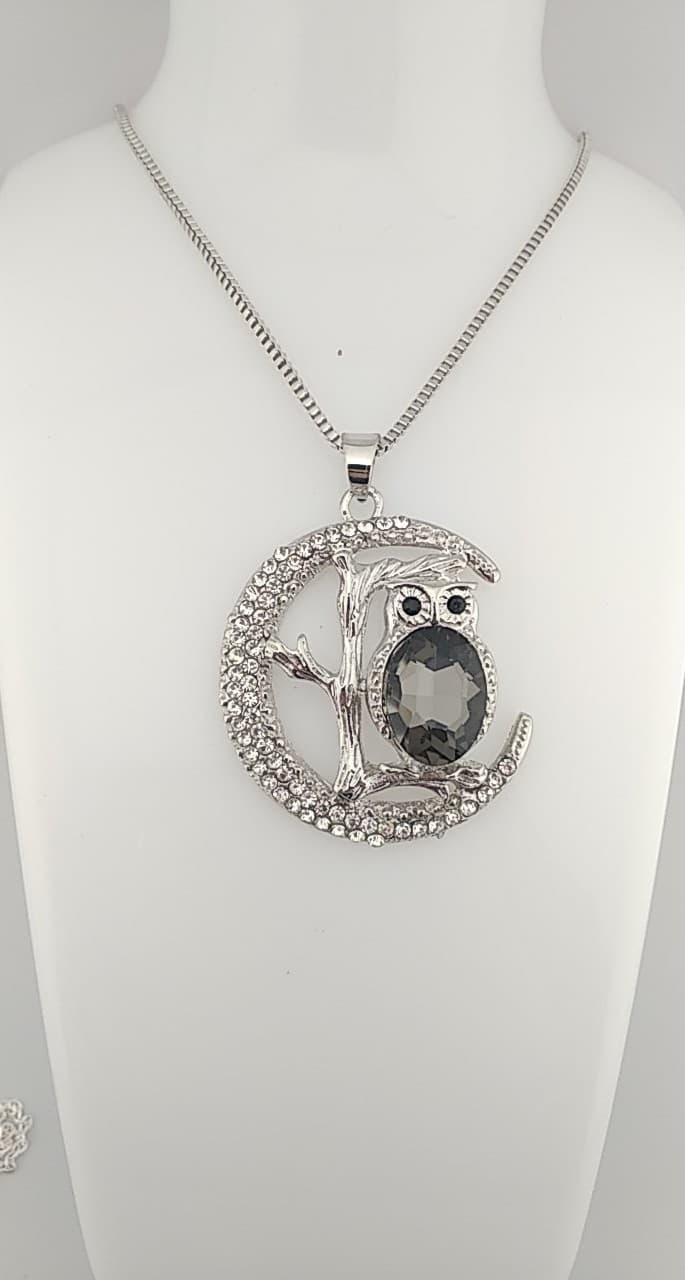 Collier Long Hibou