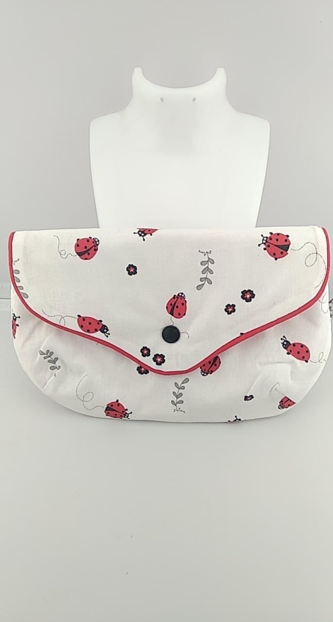 Pochette en tissus coton
