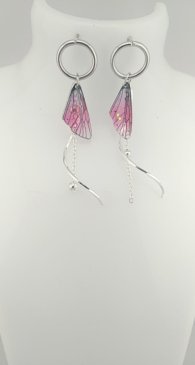 Boucles d\'oreilles papillons