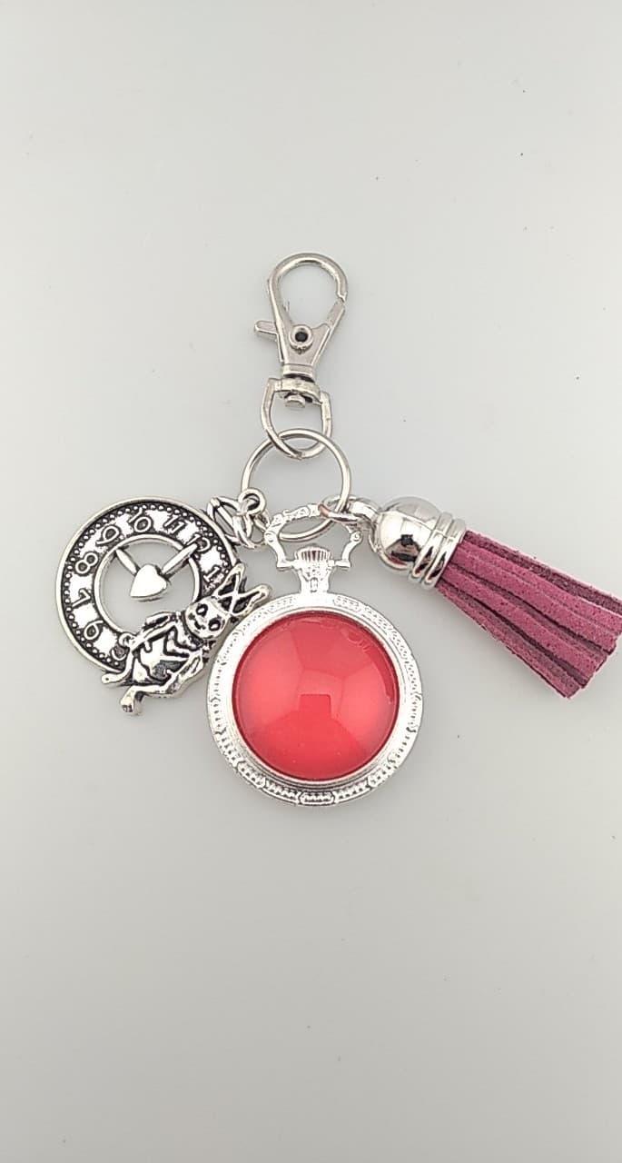 Porte clefs rouge