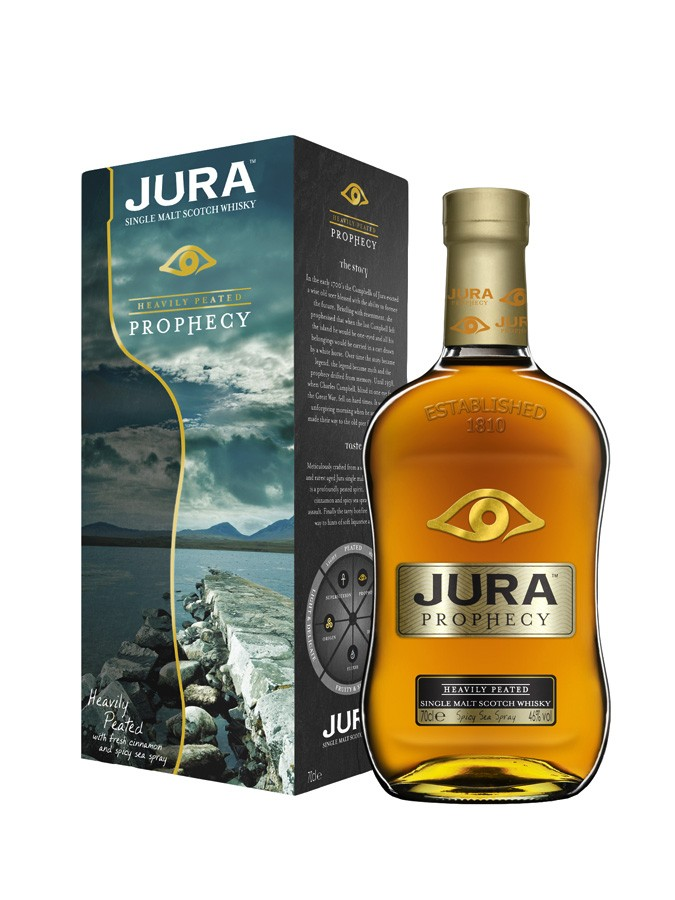 JURA Prophecy 46% | Single Malt Whisky Tourbé, Highlands