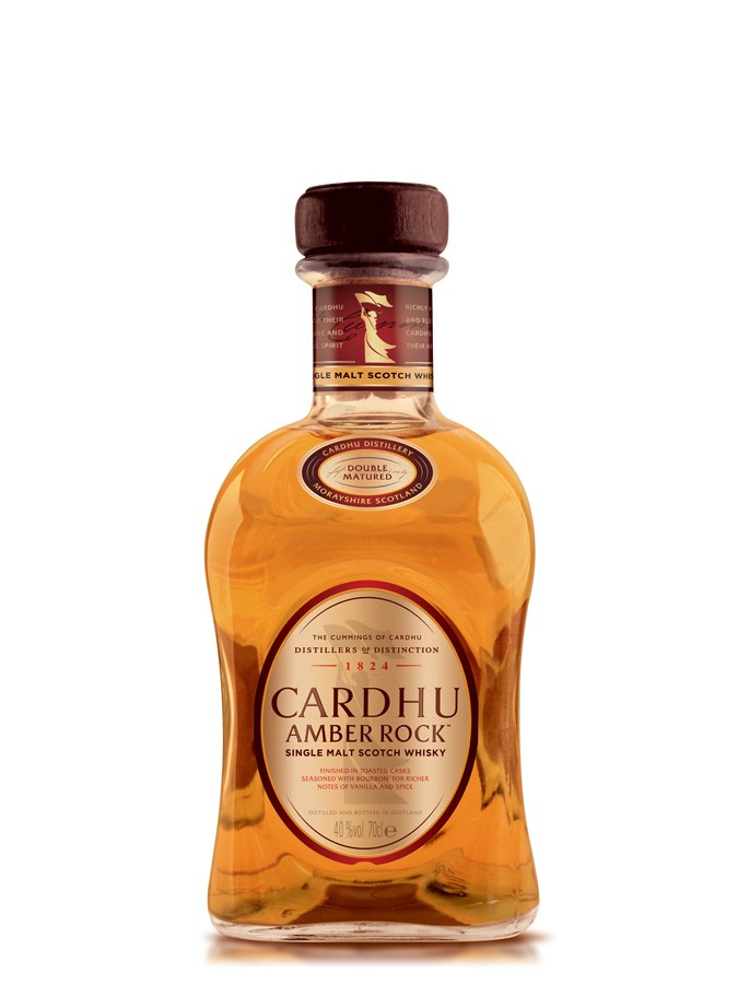 CARDHU Amber Rock 40% | Single Malt Whisky