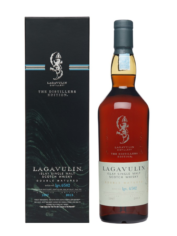 LAGAVULIN Distillers Edition 43% | Single Malt Whisky, Très Tourbé