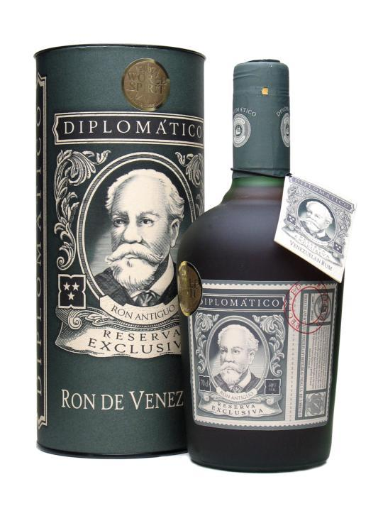 DIPLOMATICO Reserva Exclusiva 40% | Rhum traditionnel, Venezuela