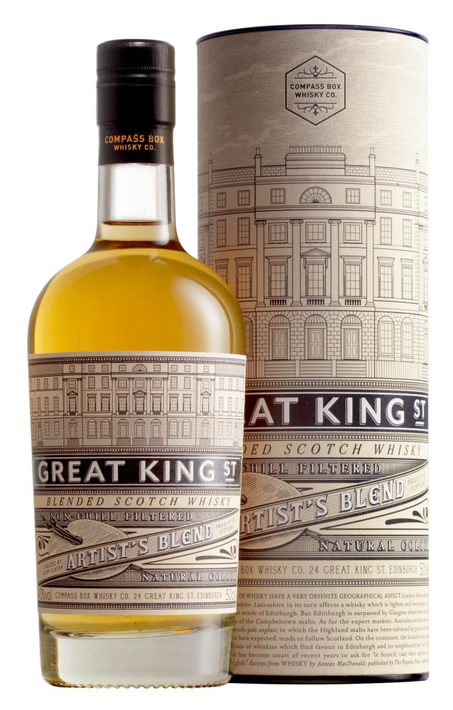 GREAT KING STREET Artist\'s Blend Whisky 43%