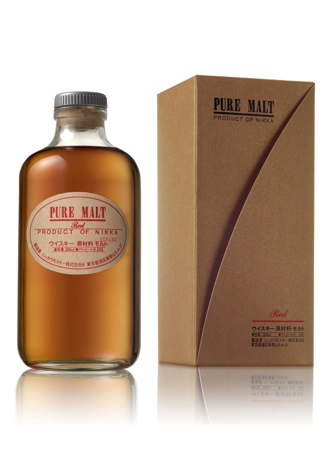 NIKKA PURE MALT RED whisky japonais