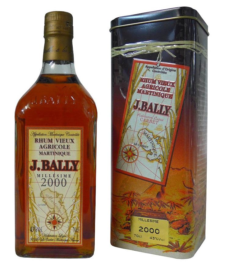 BALLY Millésime 2005 43% | Rhum Agricole AOC, Martinique