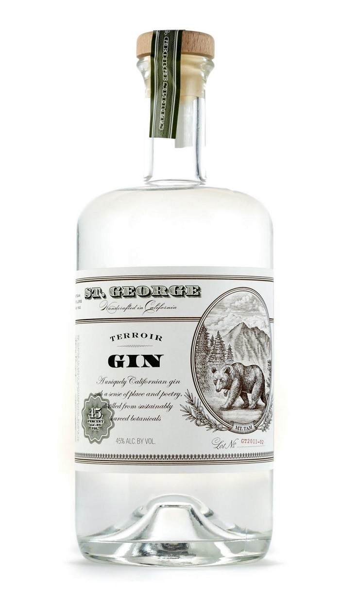 ST. GEORGE Terroir Gin 45%
