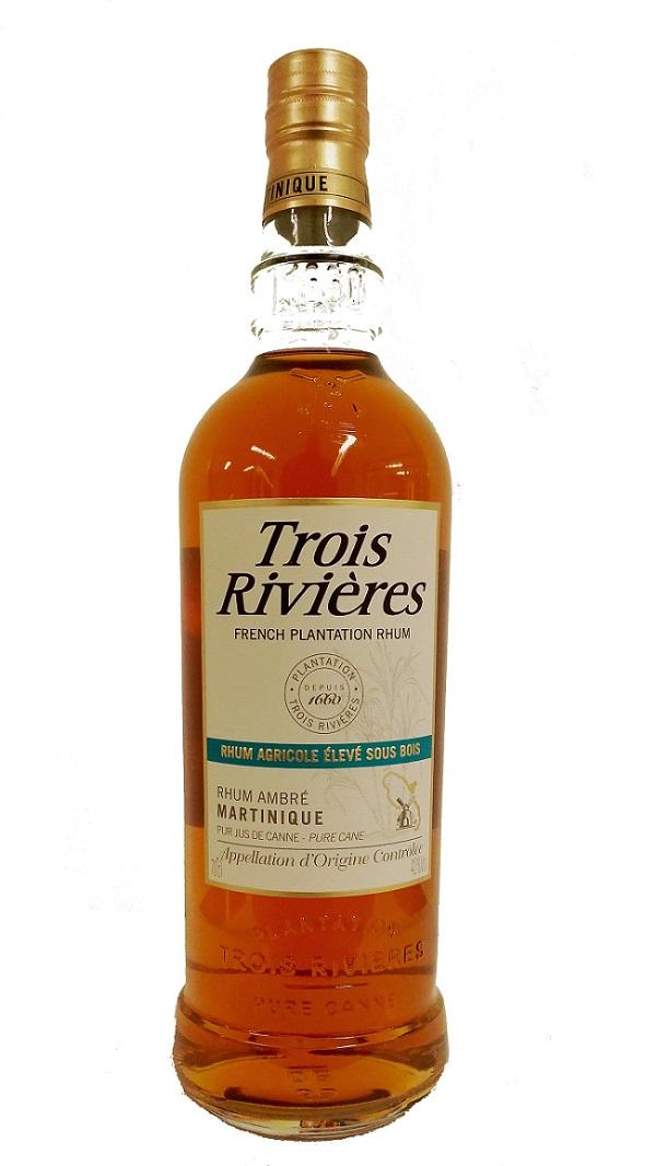 TROIS RIVIERES Ambré 40% | Rhum Agricole, Martinique