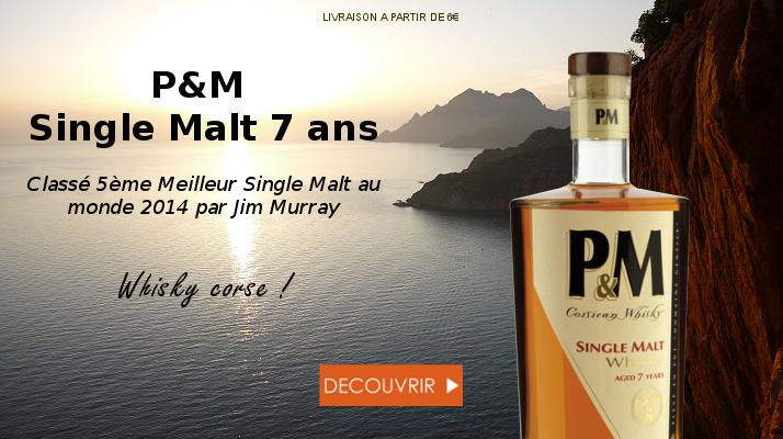 P&M Single Malt 7 ans