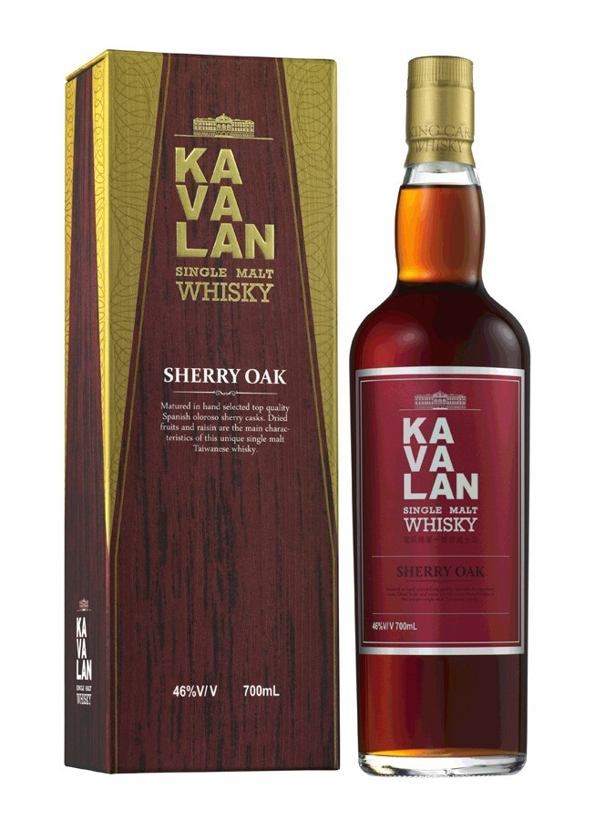 KAVALAN Ex-Sherry Oak 46% | Whisky Taïwanais