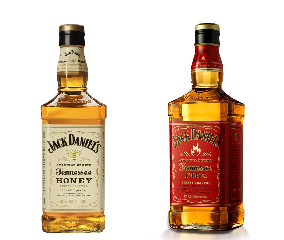 [PACK] JACK DANIEL\'S Tennessee Honey et Fire 35% | Whisky Américain, Tennessee