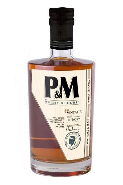 P&M VINTAGE 40% | Whisky Corse