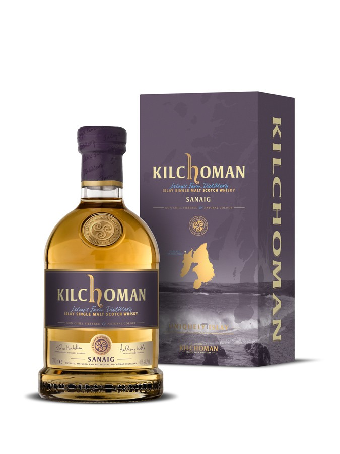 KILCHOMAN Sanaig 46% | Single Malt Whisky, Très Tourbé