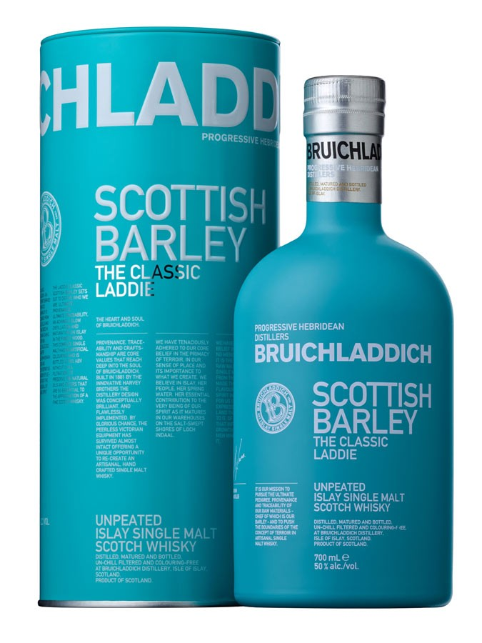 BRUICHLADDICH Laddie Scottish Barley 50% | Single Malt Whisky