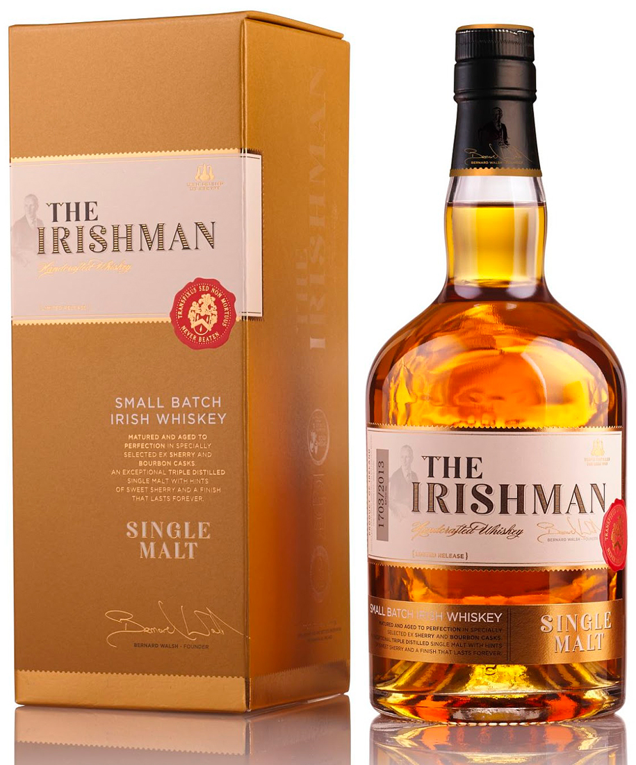 THE IRISHMAN Single Malt 40% | Whisky Irlandais