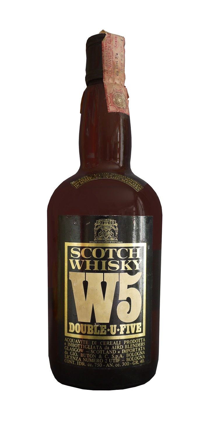 W5 Blended Scotch Whisky 40% | Whisky Rare