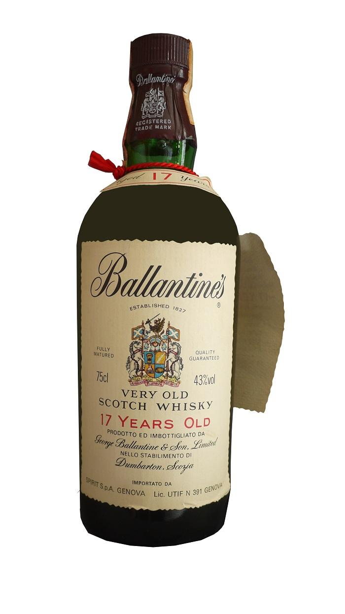 BALLANTINE\'S 17 ans 43% (année 1970) | Whisky Rare