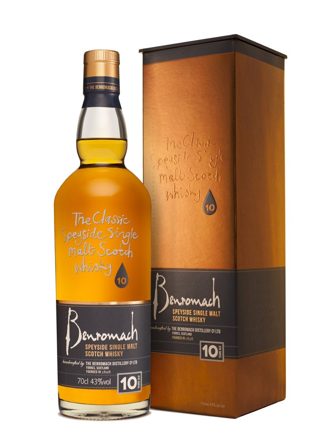 BENROMACH 10 ans 43% | Single Malt Whisky, Speyside