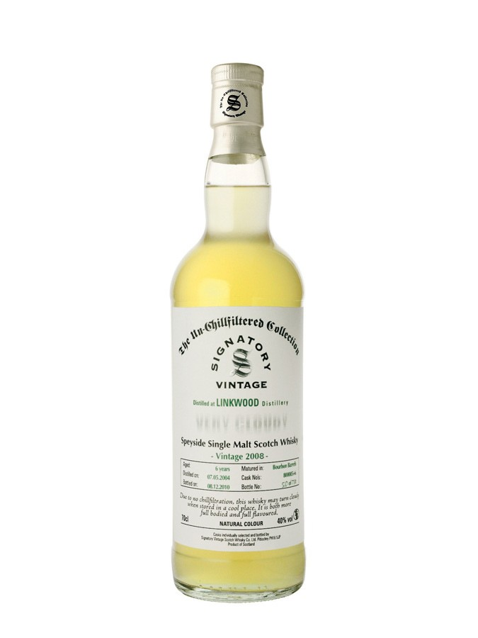 LINKWOOD 2008 40% | Single Malt Whisky