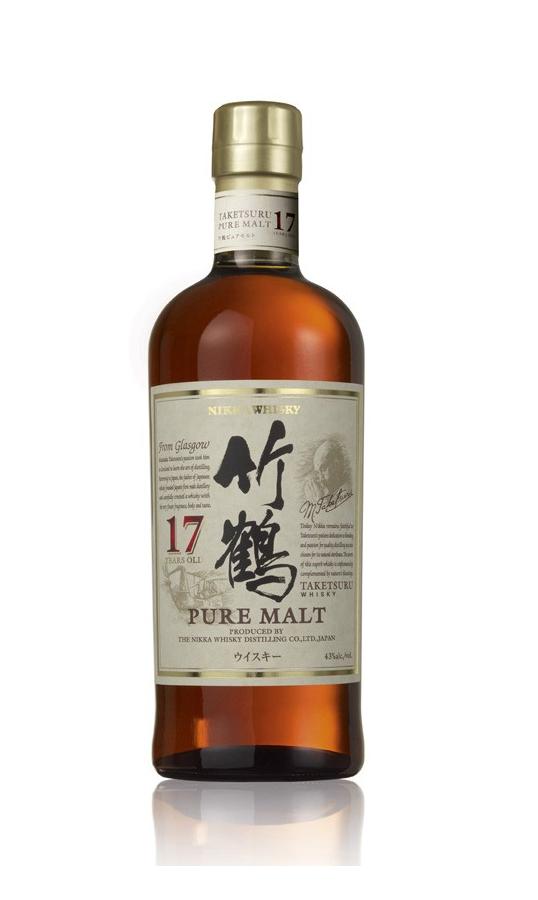NIKKA 17 ans Taketsuru 43% | Whisky Japonais
