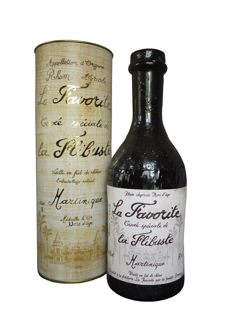 LA FAVORITE La flibuste 1992 40% | Rhum Vieux Agricole AOC