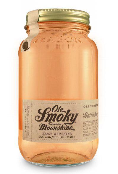 OLE SMOKY Peach Moonshine 20% | Eau-de-vie américaine