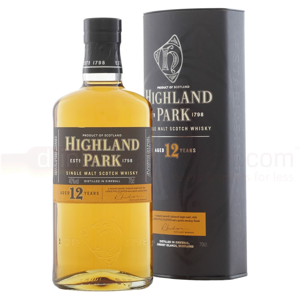 HIGHLAND PARK 12 ans 40% | Single Malt Whisky, Highland