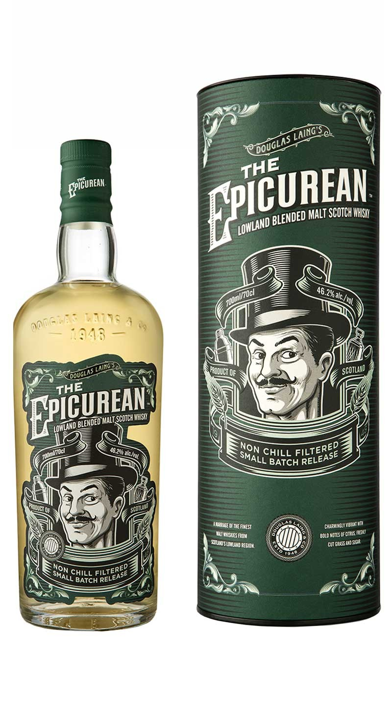 THE EPICUREAN 46,2% | Blended Whisky