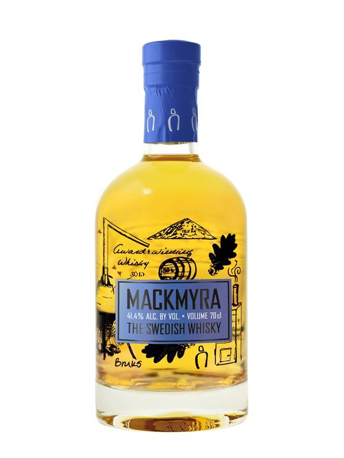 MACKMYRA Bruks 41,4% | Single Malt Whisky, Suède