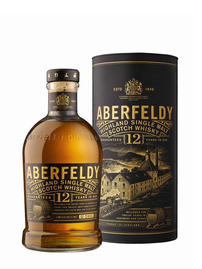 ABERFELDY 12 ans 40% | Single Malt Whisky, Highlands