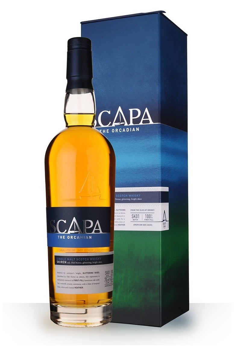 SCAPA Skiren 40% | Single Malt Whisky, Highlands