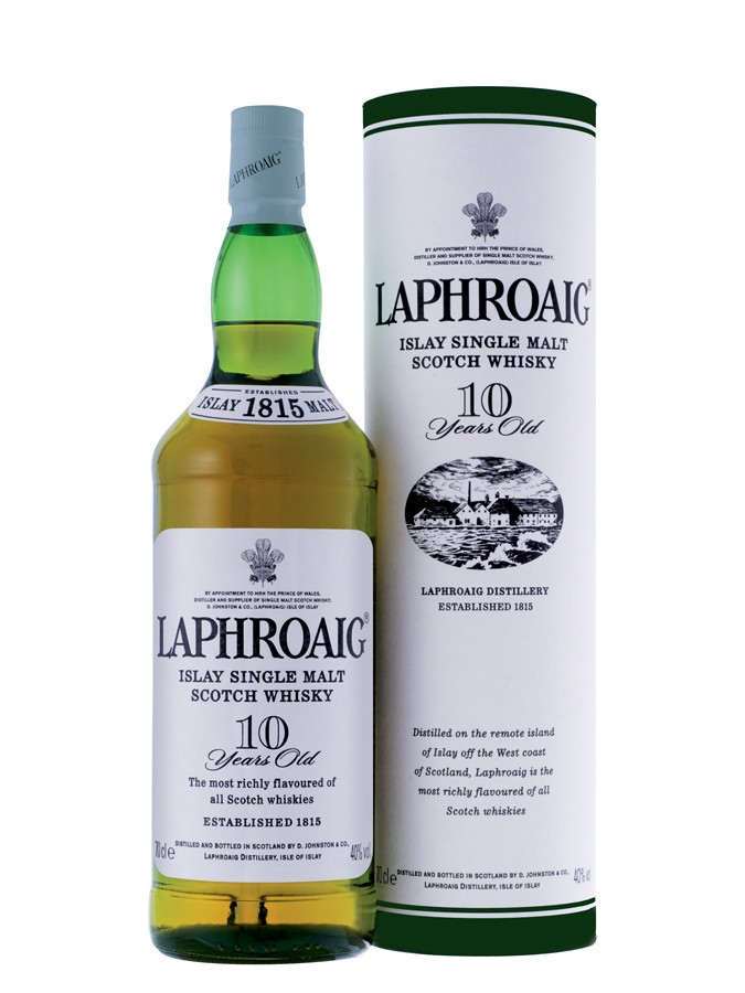 LAPHROAIG 10 ans 40% | Single Malt Whisky, Whisky Tourbé