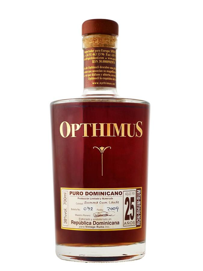 OPTHIMUS 25 ans 38% | Rhum Vieux République Dominicaine