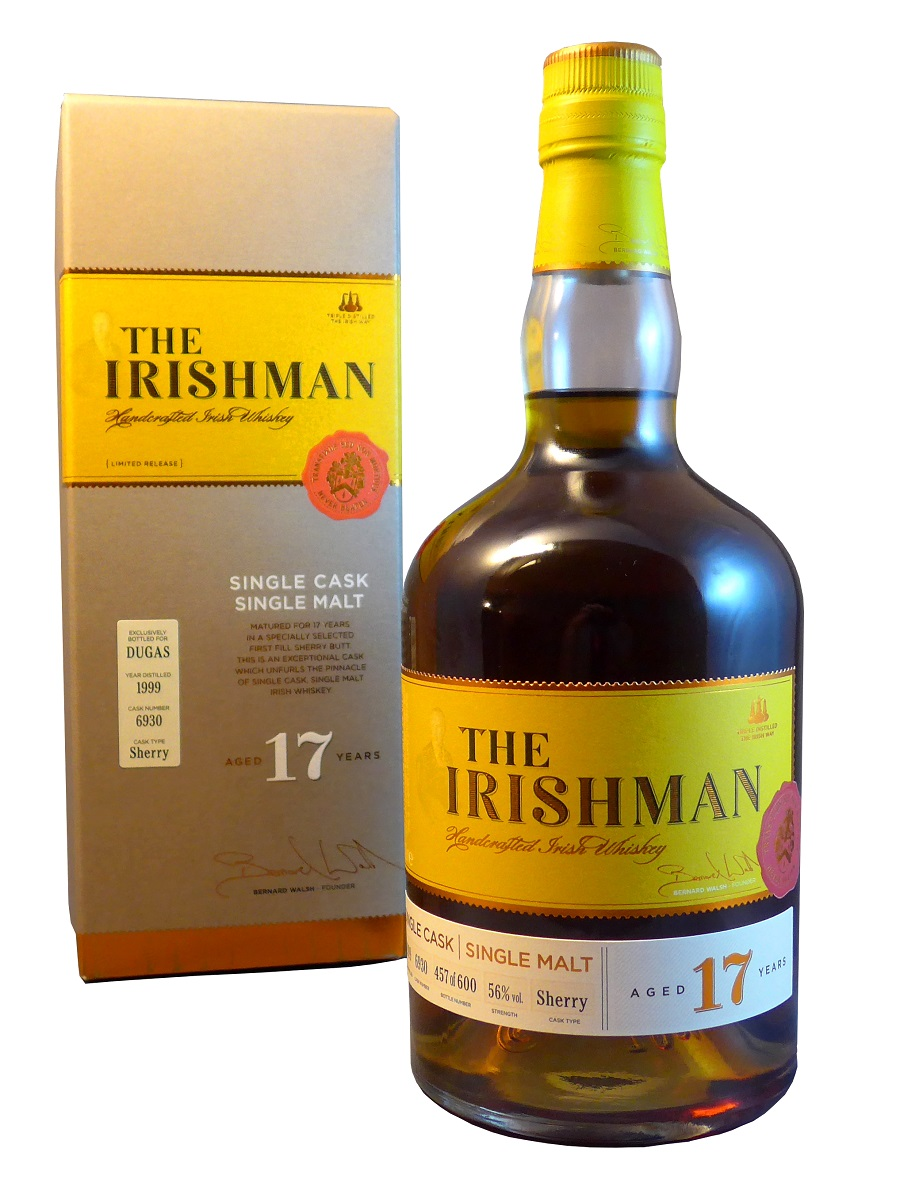 THE IRISHMAN 17 ans 56% | Whisky Irlandais