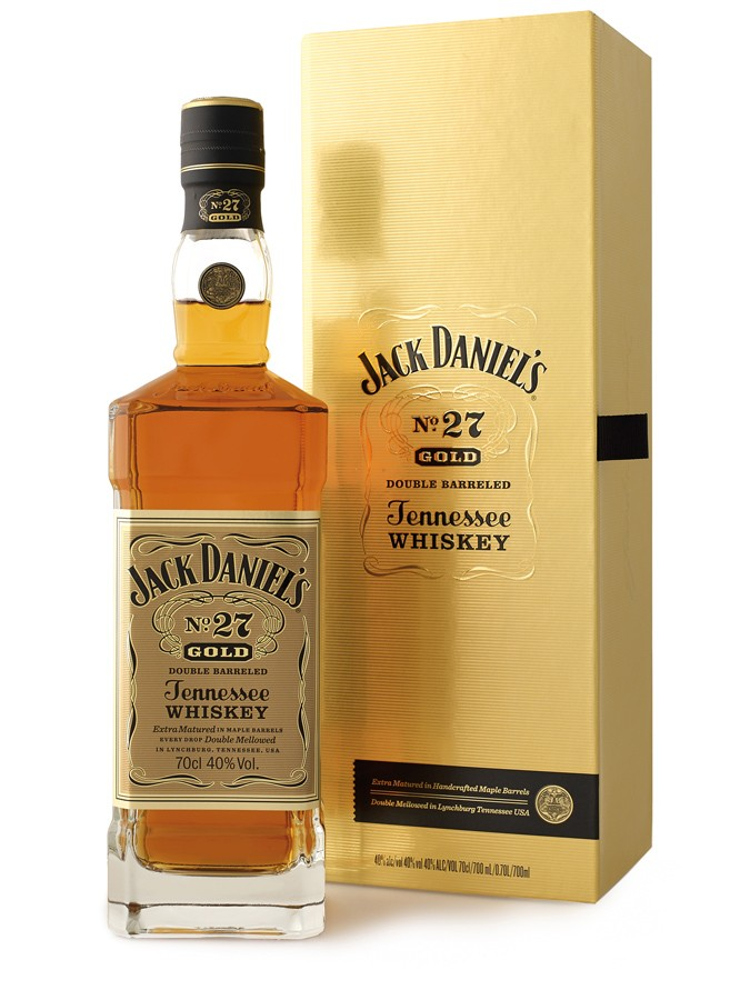 JACK DANIEL\'S Gold No 27 40% | Whisky Américain, Tennessee