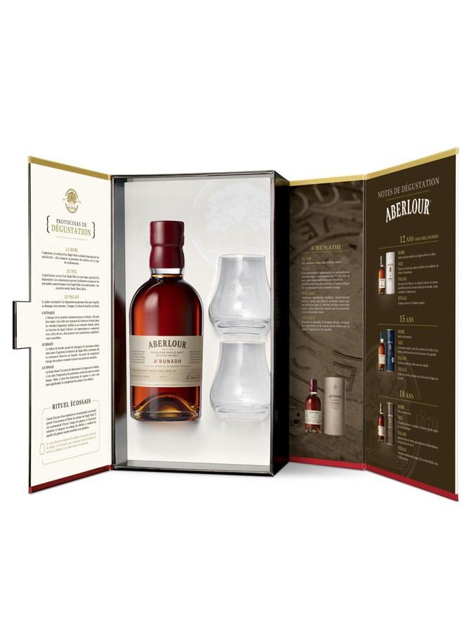 ABERLOUR A\'Bunadh 59,7% + 2 verres inclus | Coffret Dégustation Whisky