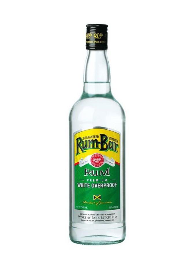 WORTHY PARK Rum Bar White Overproof 63% | Rhum de la Jamaïque