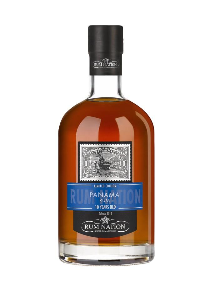 RUM NATION 10 ans Panama 40% | Rhum