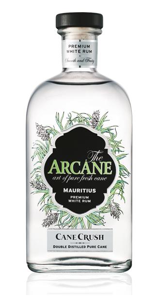 ARCANE Cane Crush 43.8% | Rhum Mauricien
