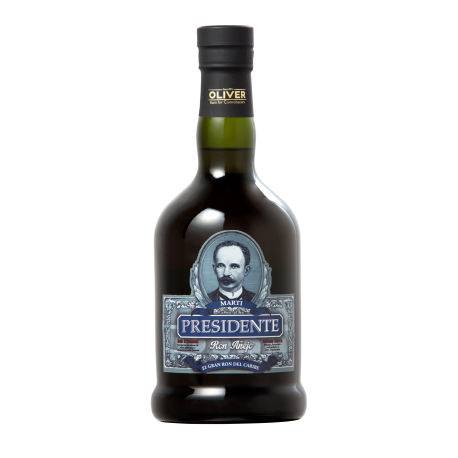 PRESIDENTE MARTI Anejo 40% | Rhum Antillais, République Dominicaine