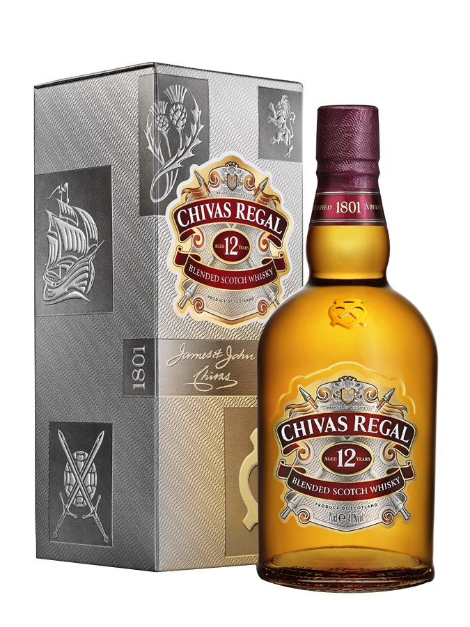CHIVAS 12 ans 40 % | Blended Whisky