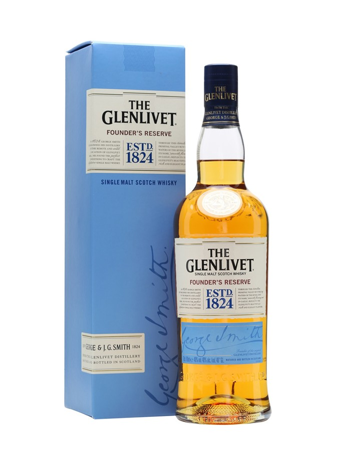 GLENLIVET Founders Reserve 40% | Single Malt Whisky, Speyside
