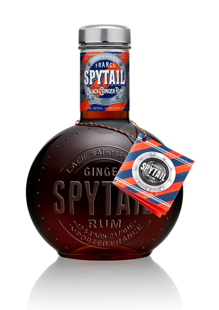 SPYTAIL Black Ginger Rum 40% | Rhum Épicé