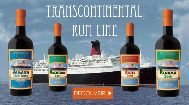Transcontinental rum line