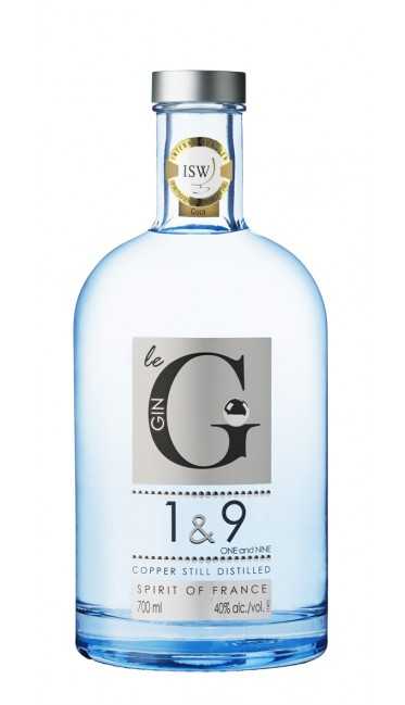 1&9 Gin 40% | Gin Français
