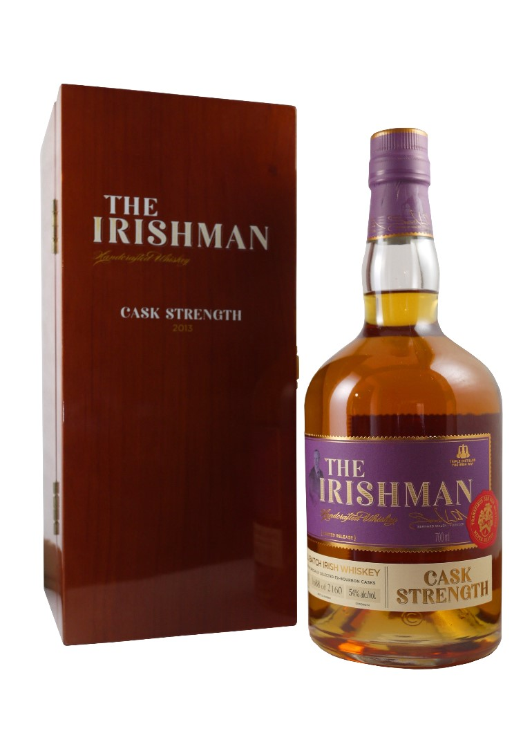 THE IRISHMAN Cask Strength 2013 54% | Whisky Irlandais