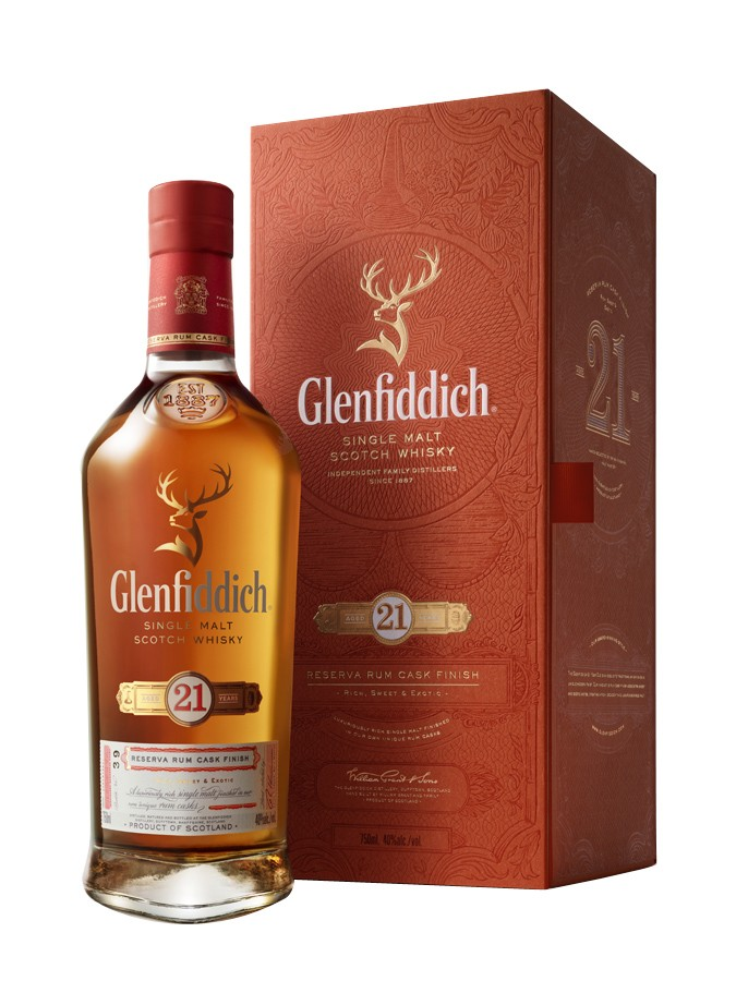 GLENFIDDICH 21 ans Gran Reserva 40% | Single Malt Whisky