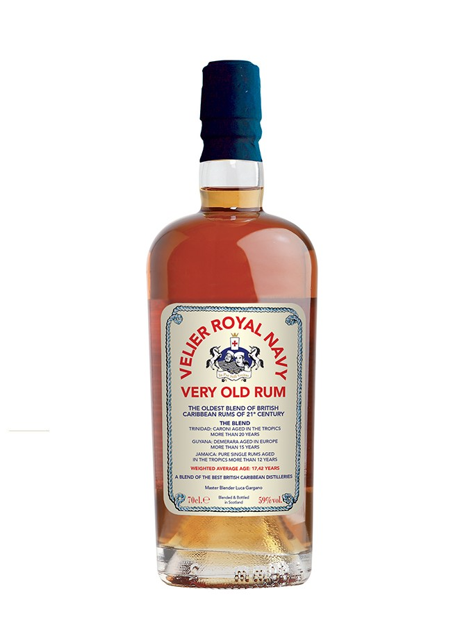 VELIER ROYAL NAVY Very Old Rum 57,18% | Rhum Vieux